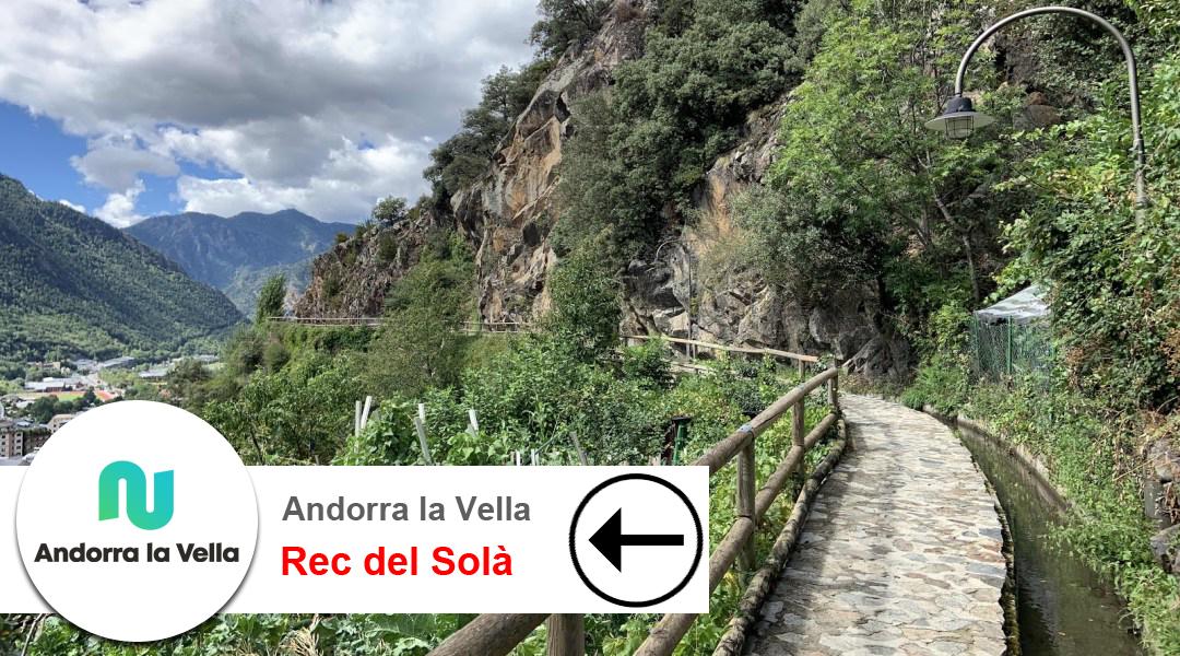 Imagen Andorra la Vella. Rec del Solà. D'est a oest