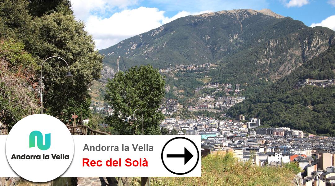 Imagen Andorra la Vella. Rec del Solà. D'oest a est