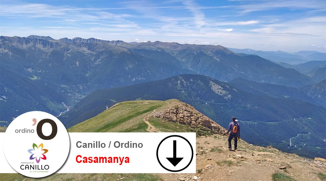Imagen Andorra. Pic de Casamanya. Descens.