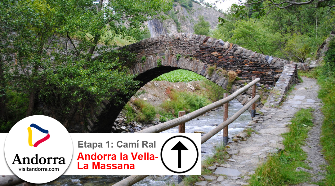 Imagen Camí Ral. Etapa 1. Andorra la Vella a La Massana