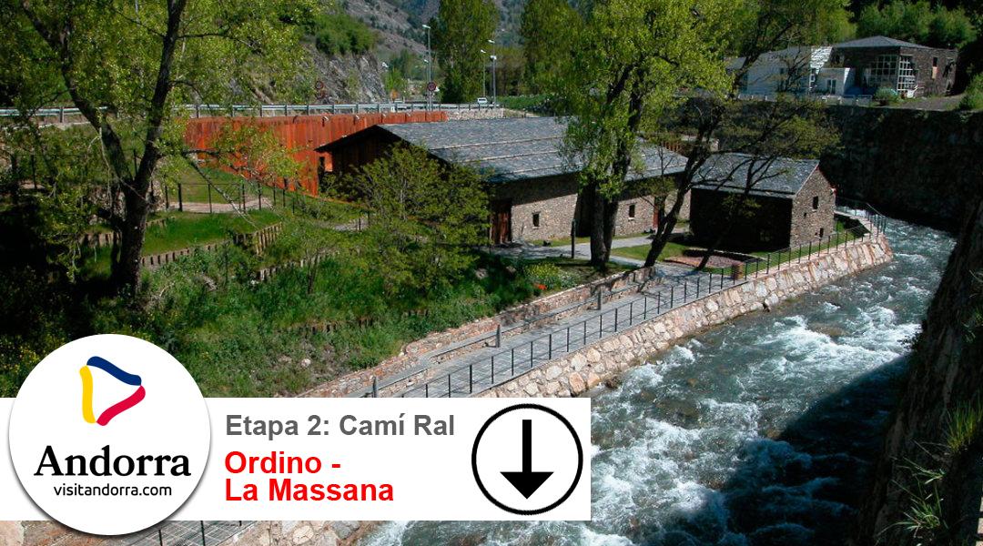 Imagen Camí Ral. Etapa 2. Ordino a La Massana