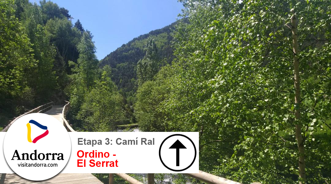 Imagen Camí Ral. Etapa 3. Ordino a El Serrat