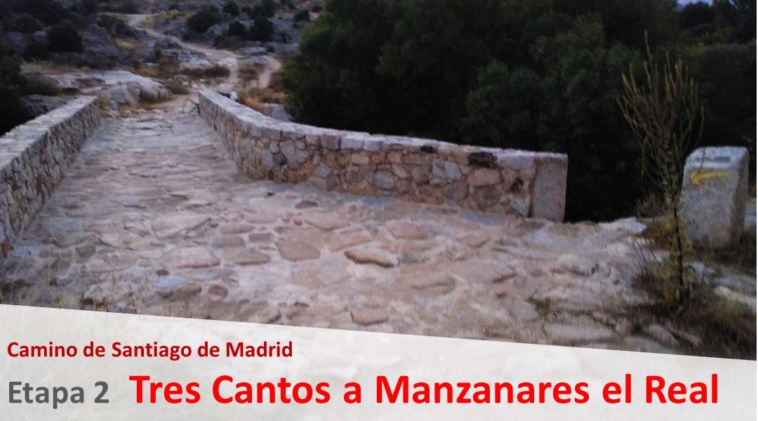 Imagen Camino de Madrid. Etapa 2. Tres Cantos a Manzanares el Real