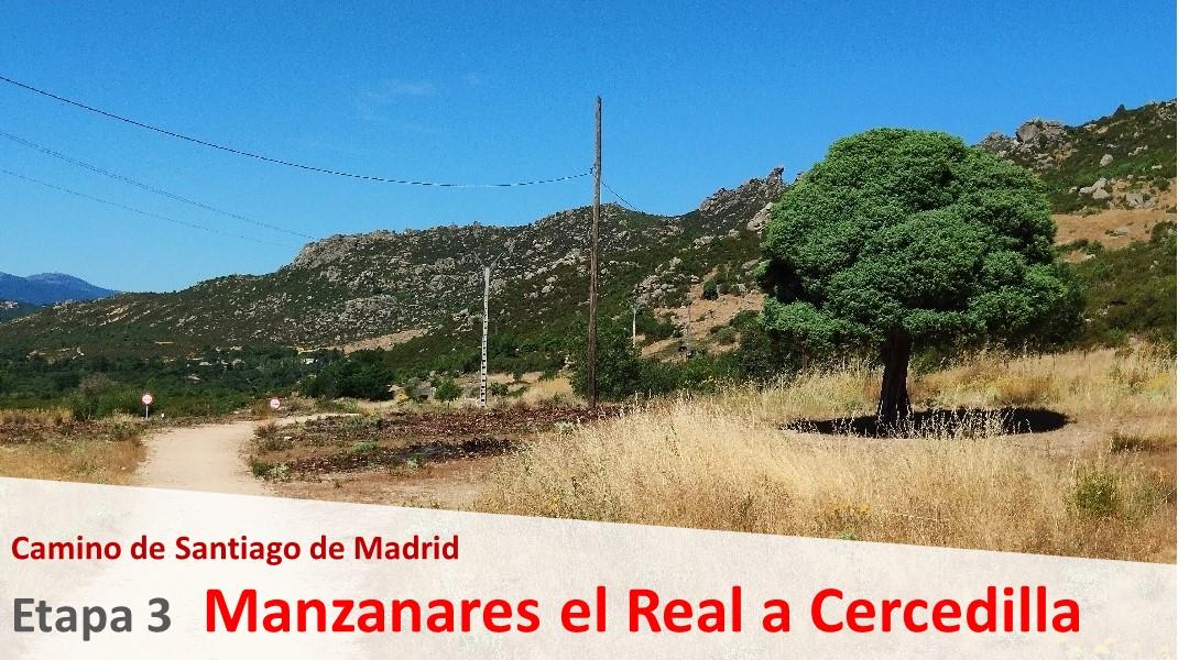 Imagen Camino de Madrid. Etapa 3. Manzanares del Real a Cercedilla.