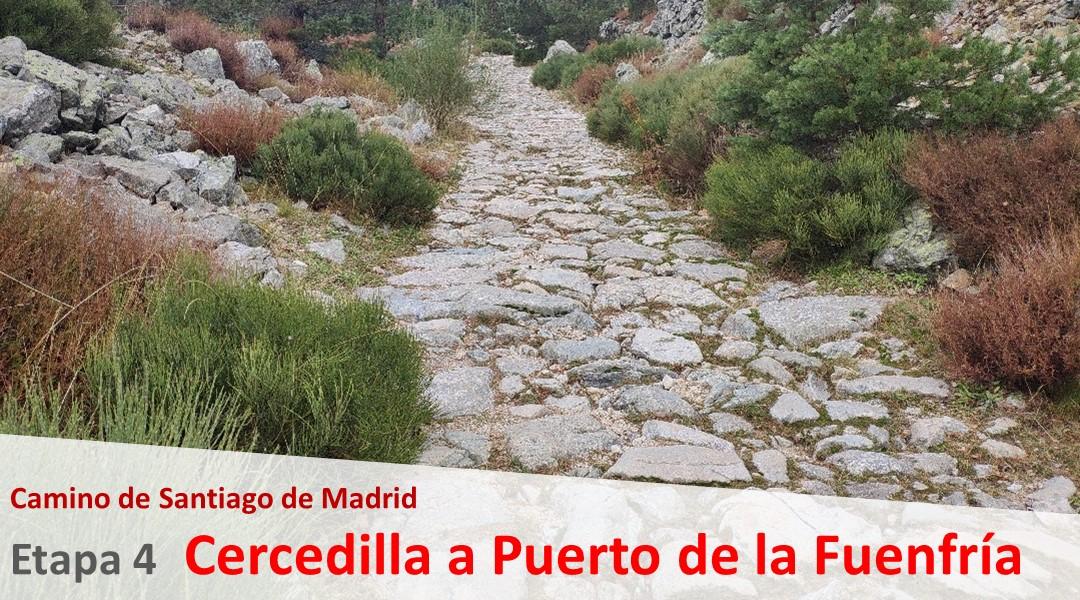 Imagen Camino de Madrid. Etapa 4. Cercedilla al Puerto de la Fuenfria
