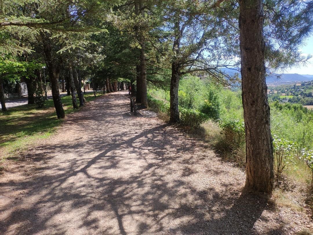Imagen Variante Etapa B01. Jaca,  Camino de Santiago Francés. Lectura Fácil