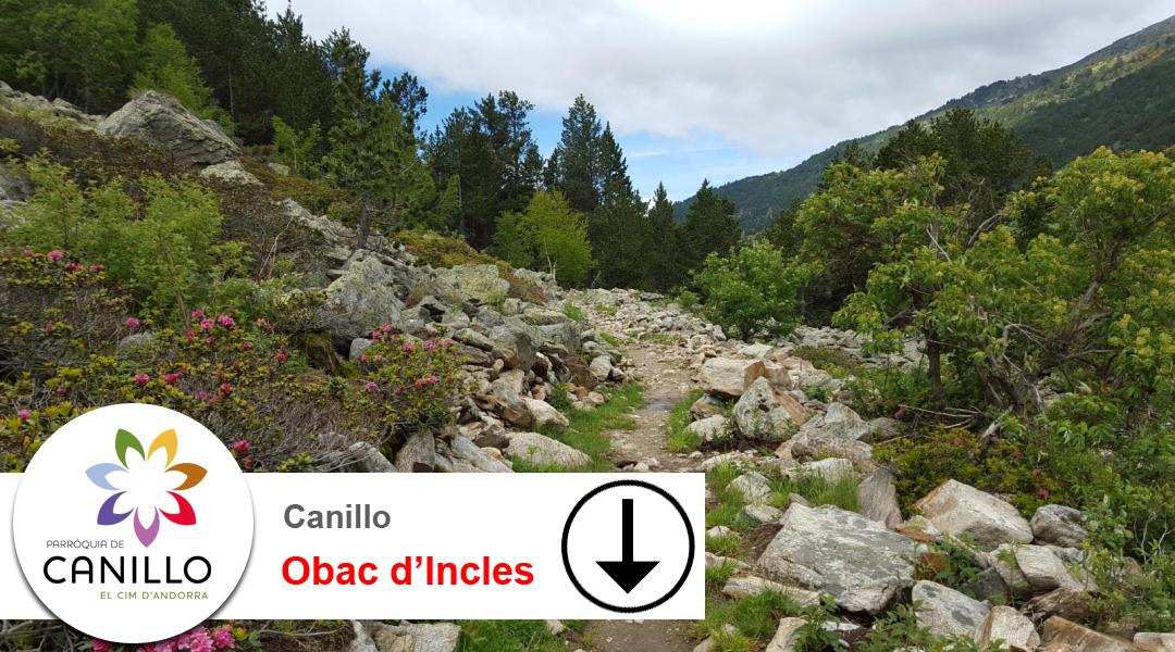 Imagen Canillo. Camí de l'Obac d'Incles. Descens