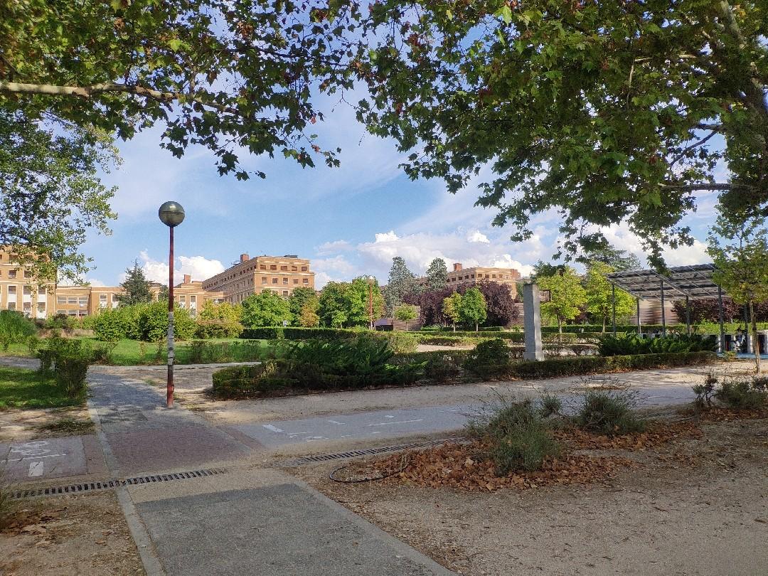 Imagen Ciudad Universitaria. Ruta 1B. Avenida de la Complutense a Moncloa.