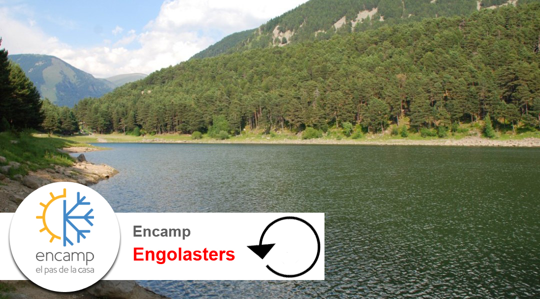 Imagen Encamp. Llac d'Engolasters. Volta al llac
