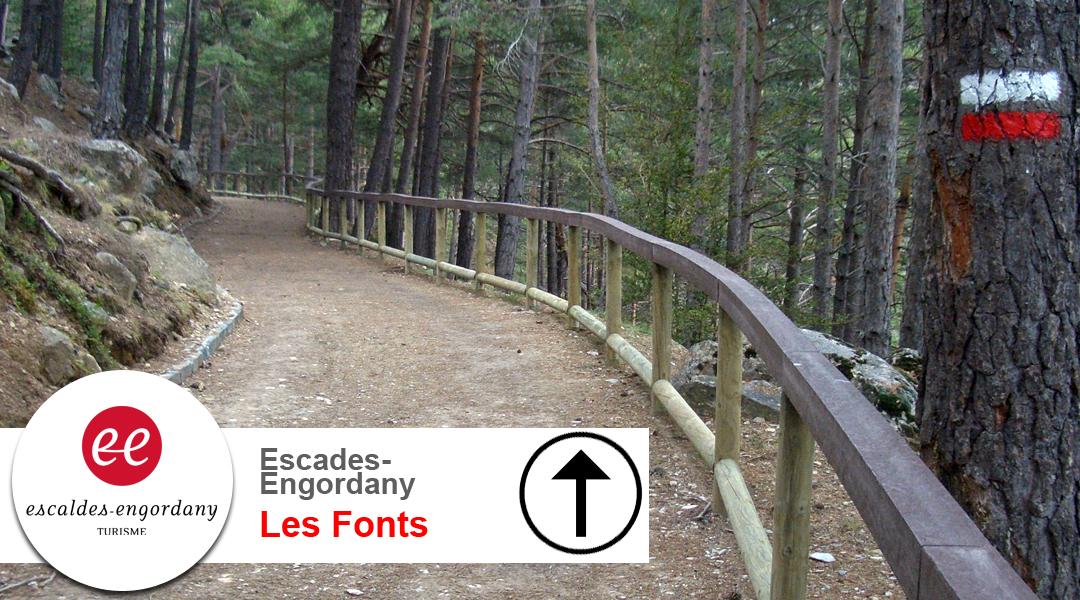 Imagen Escaldes Engordany. Les Fonts. Anada.