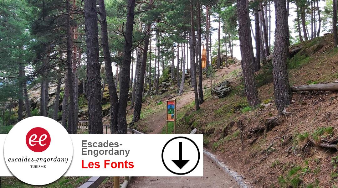 Imagen Escaldes Engordany. Les Fonts. Tornada.