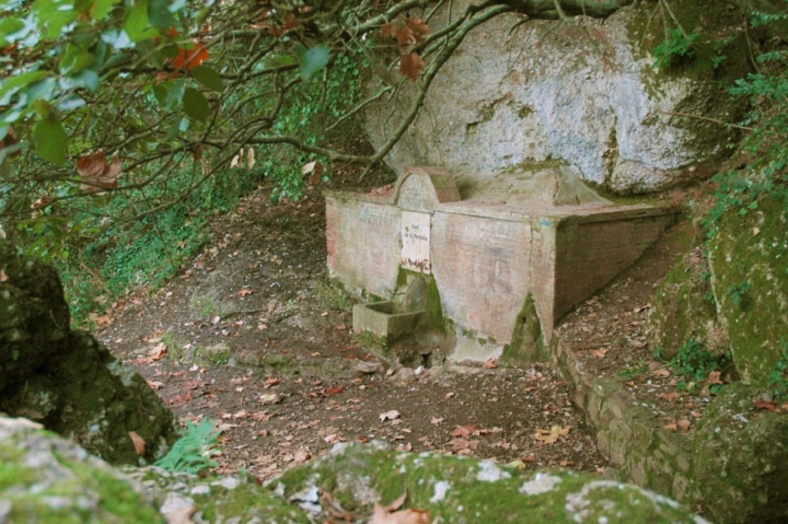 Imagen Font de la Portella. Ida.