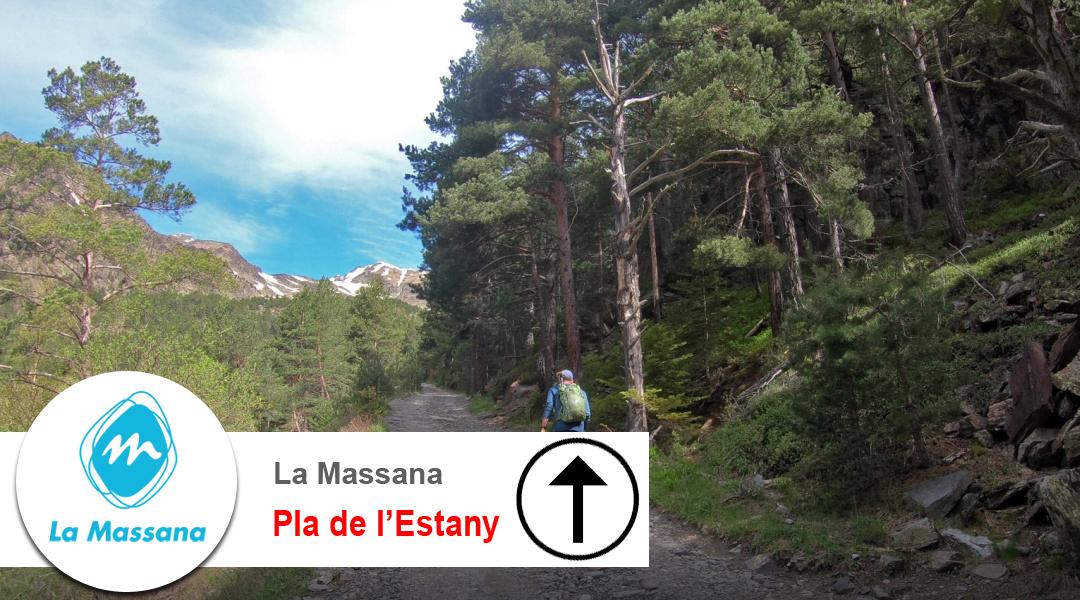 Imagen La Massana. Camí del Pla de l'Estany. Ascens.