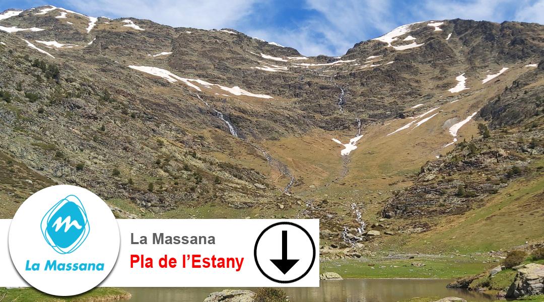 Imagen La Massana. Camí del Pla de l'Estany. Descens
