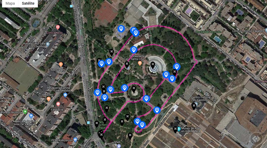 Imagen Ruta biosaludable en el Parque de los Castillos